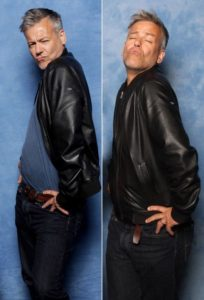 """Man in leather jacket posing illustration for s it Possible to be """"Too Sexy""""?"""